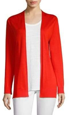 Eileen Fisher Wool& Silk Cardigan