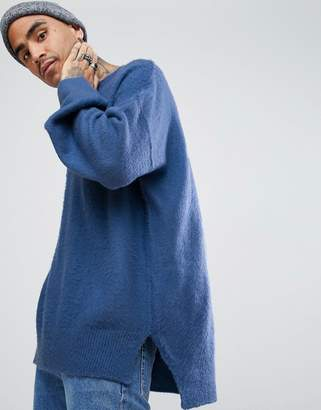 Mennace Sweater With Dropped Shoulder