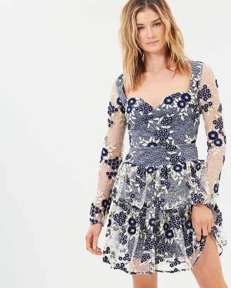 Cooper St Moonflower Long Sleeve Lace Dress