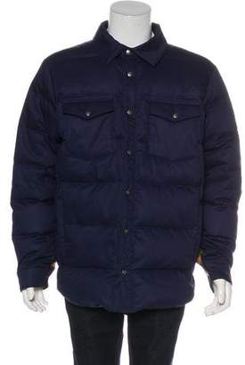 The North Face Quilted Down Shirt Jacket
