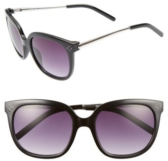 Women's A.j. Morgan Dowager 52Mm Sunglasses - Black $24 thestylecure.com
