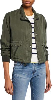 cecbb03e558e Women s Cropped Utility Jacket - ShopStyle