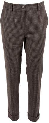Etro Brown Wool Trousers