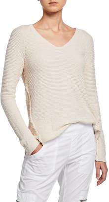 XCVI Tuft Seamed Sweater