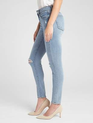 Gap Soft Wear Mid Rise Curvy True Skinny Jeans