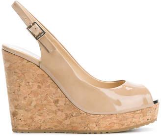 Jimmy Choo Prova wedge sandals