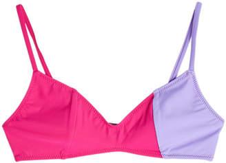 Araks Elsa Color Block Bikini Top