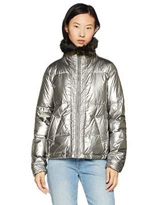 BOSS Women's Opearly Jacket, (Silver 048), (Size: 36)