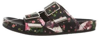 Givenchy Leather Buckle Sandals