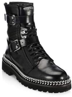 Balmain Ranger Leather Boots