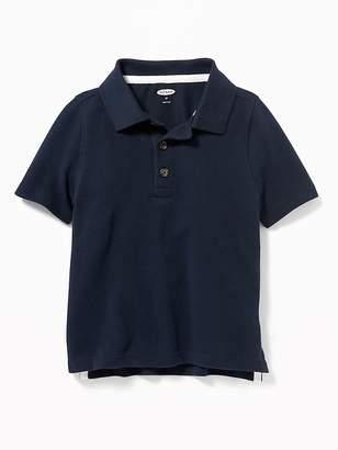 Old Navy Pique Uniform Polo for Toddler Boys
