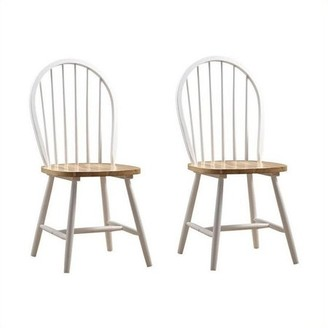 Boraam Farmhouse Chairs, Set of 2, Multiple Colors
