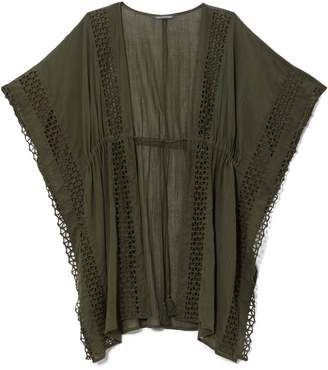Vince Camuto Cutout-trim Caftan Cover-up