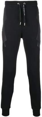 Les Hommes Urban panelled jogging trousers