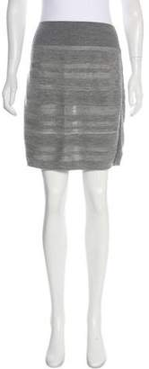 See by Chloe Virgin Wool Mini Skirt