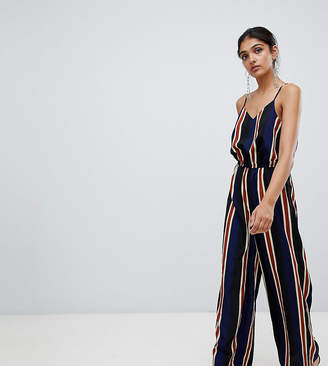 Y.a.s Tall Stripe Cami Jumpsuit