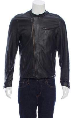 Shipley & Halmos Leather Biker Jacket