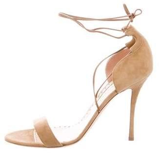 Rupert Sanderson Res Lace-Up Sandals w/ Tags