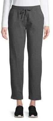 Karen Scott Petite Drawstring Knit Pants