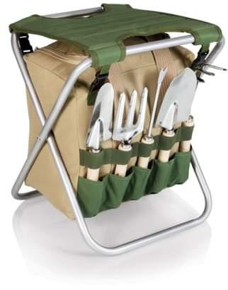 Picnic Time Gardener Seat & Tools