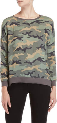 Fever Printed Woven Pullover