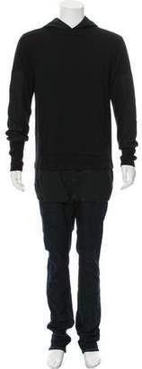 Helmut Lang Longline Hooded Sweater
