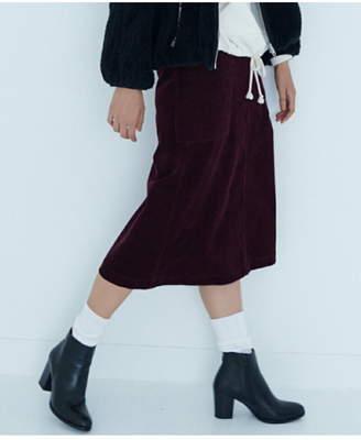 SHARE PARK (シェア パーク) - SHARE PARK コーデュロイ ミディアム丈 スカート シェアパーク スカート