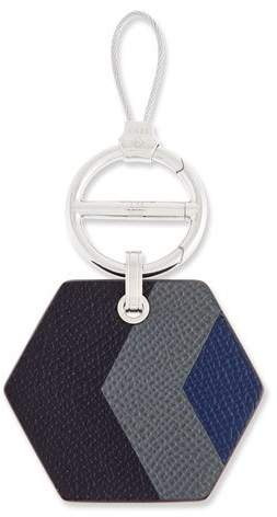 dunhill Marquetry Leather Key Chain