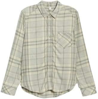 BP Heathered Plaid Shirt