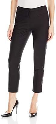 Ellen Tracy Women's Petite Size Welt Pocket Slim Pant