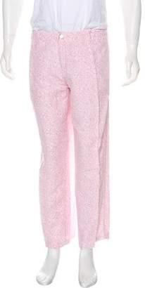 Vilebrequin Linen Floral Print Pants