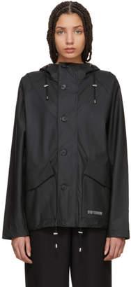 Stutterheim Black Stenharma Raincoat