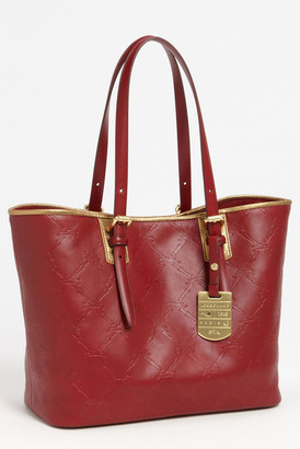 LONGCHAMP Leather Small Shoulder Tote $575 thestylecure.com