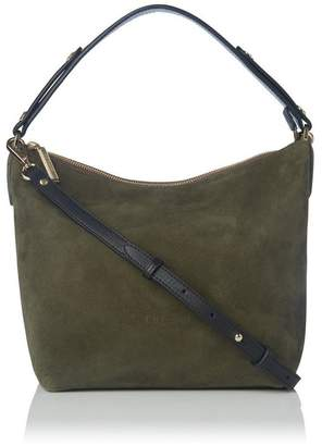Womens SACO FLASH SS18 KHAKI Shoulder Bag Green Green (khaki) Munich XeSO6Jm