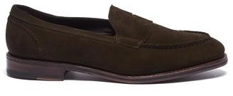 ede351d5523 Allen Edmonds  Mercer Street  suede penny loafers