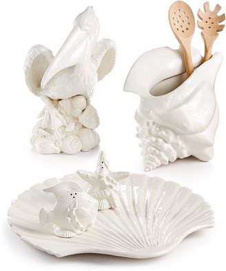 Fitz & Floyd Cape Coral Figural Serveware Collection