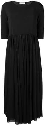 Jil Sander long pleated dress