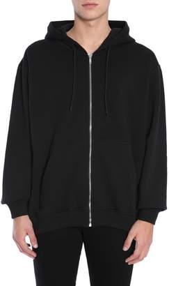 MSGM Hooded Sweatshirt With Logo