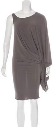 Thomas Wylde Asymmetrical Mini Dress