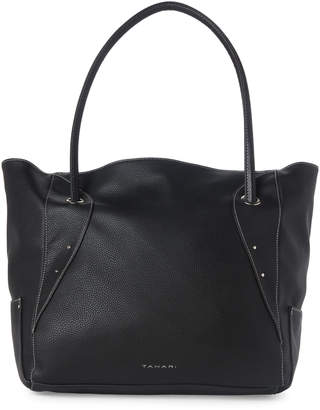 Tahari Black Fab Large Tote