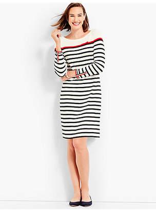Talbots Stripe Interlock Dress