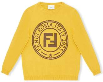 Fendi logo stamp jumper