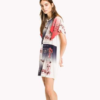 Tommy Hilfiger Silk Bandana Dress