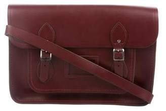 Cambridge Silversmiths Satchels Leather Crossbody Bag