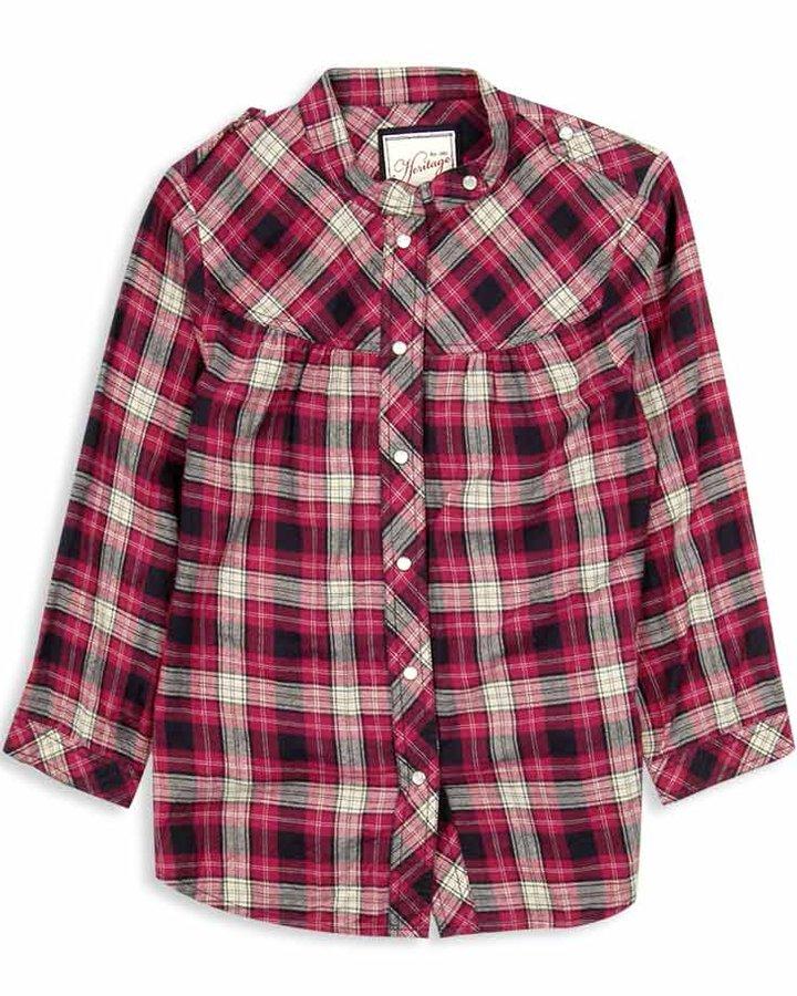 H81 Midwest Plaid Shirt