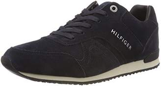 Tommy Hilfiger Men's Iconic Suede Textile Runner Low-Top Sneakers