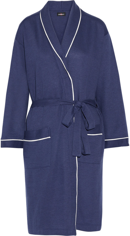 Cosabella Cosabella Cortina cotton-blend robe