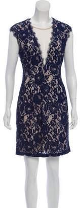 Aidan Mattox Lace Sleeveless Dress w/ Tags