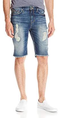 GUESS Men's Slim Hiker Blue Jean Short