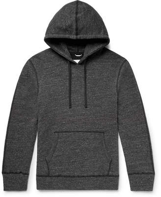 Reigning Champ Zip-Detailed Perforated Loopback Cotton-Blend Jersey Hoodie